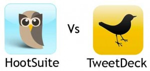 hootsuite vs tweetdeck 300x143 Top Twitter Tips for Musicians   TweetDeck, Hootsuite & TweetAdder (part 6 of 6)