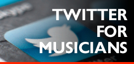 twitter for musicians