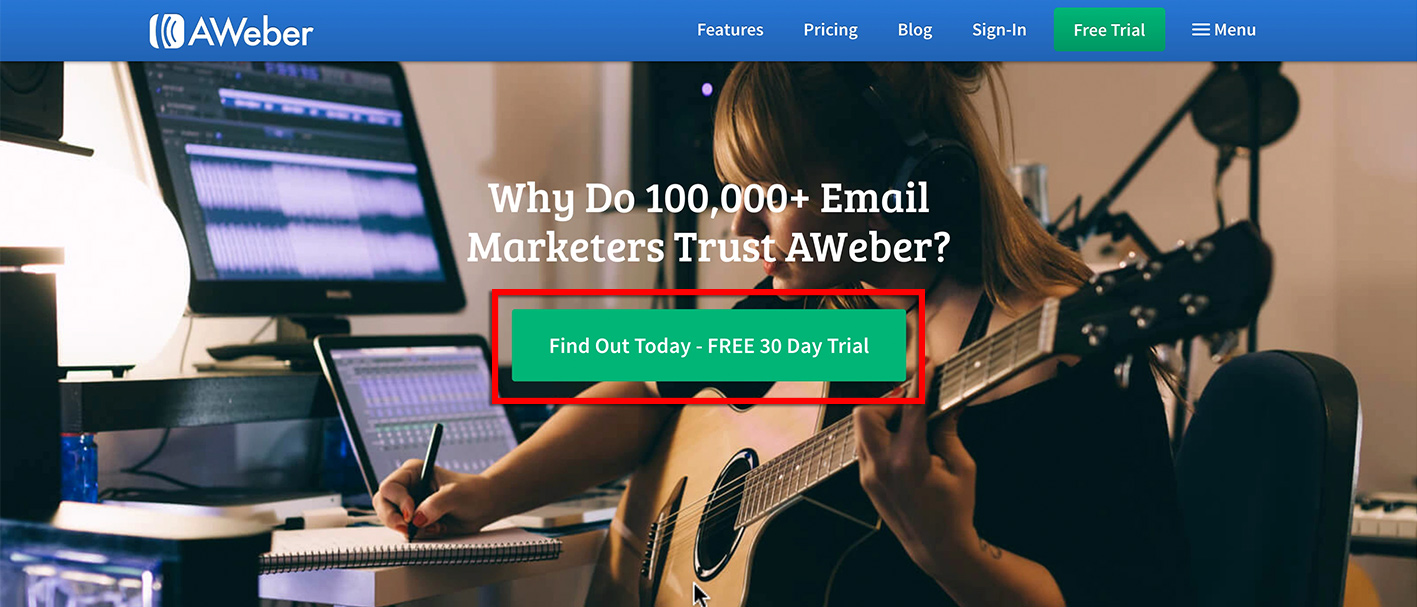 best mailing list service for musicians